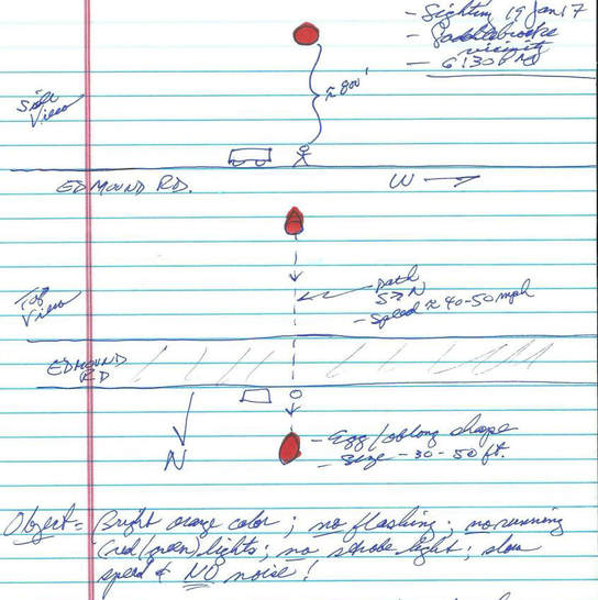 Aerospace expert describes silent object at 800 feet - MUFON