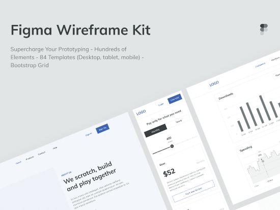 Figma Templates & UI Kits - SaaS Design