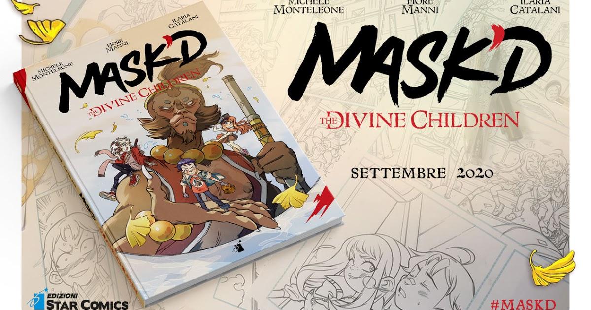 Tuttocartoni: MASK'D – THE DIVINE CHILDREN