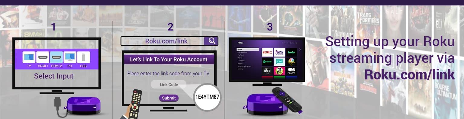 Roku.com/link : Roku Link Code   Activate Roku Account